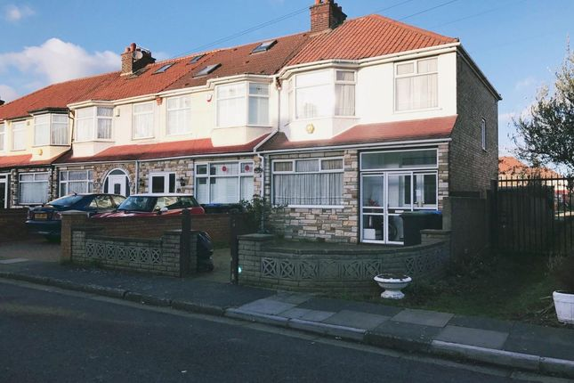 Thumbnail End terrace house for sale in Rydal Way, Ponders End, Enfield