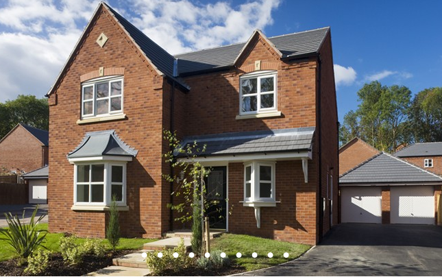 Thumbnail Detached house for sale in The Willington, St James Fields, Watering Pool, Lockstock Hall, Preston, Lancashire