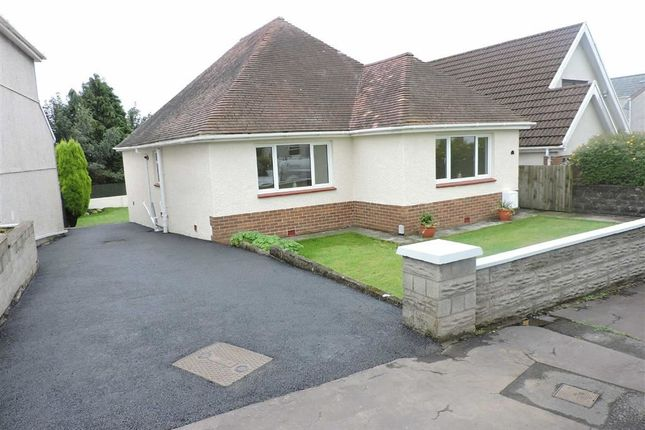 Thumbnail Detached bungalow for sale in Llannant Road, Gorseinon, Swansea