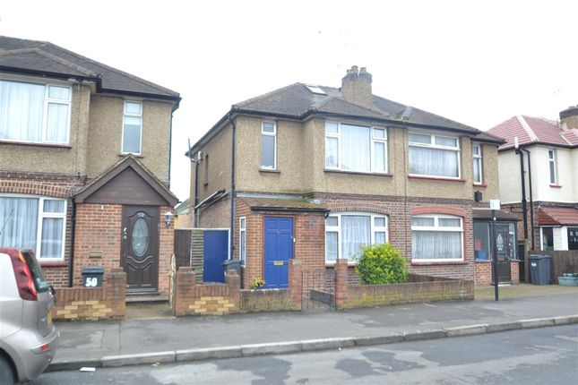 Semi-detached house for sale in Craigwell Avenue, Feltham