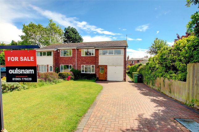 Thumbnail Semi-detached house for sale in Moreland Road, Droitwich, Worcestershire