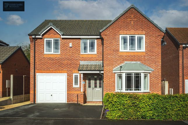 Thumbnail Detached house for sale in Longwood Hall Rise, South Normanton, Alfreton
