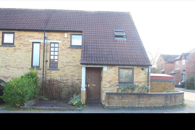 Thumbnail End terrace house for sale in Hindemith Gardens, Old Farm Park, Milton Keynes