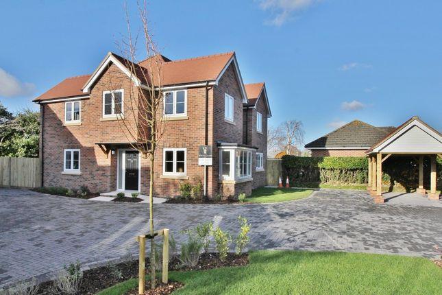 Thumbnail Detached house for sale in Sandycroft, Warsash, Southampton