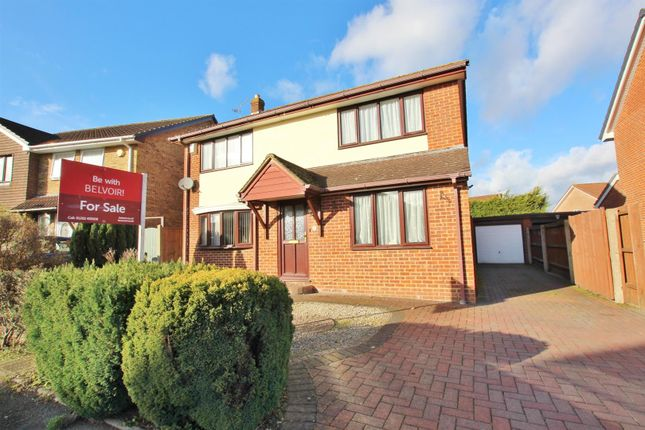 Thumbnail Detached house for sale in Crusader Road, Bearwood, Bournemouth