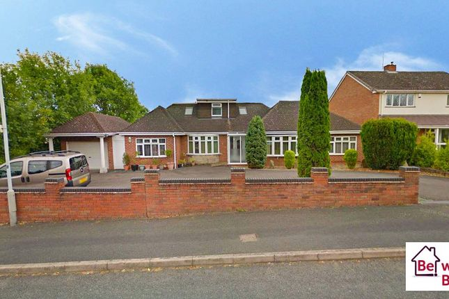 Thumbnail Detached bungalow for sale in Tyninghame Avenue, Tettenhall, Wolverhampton