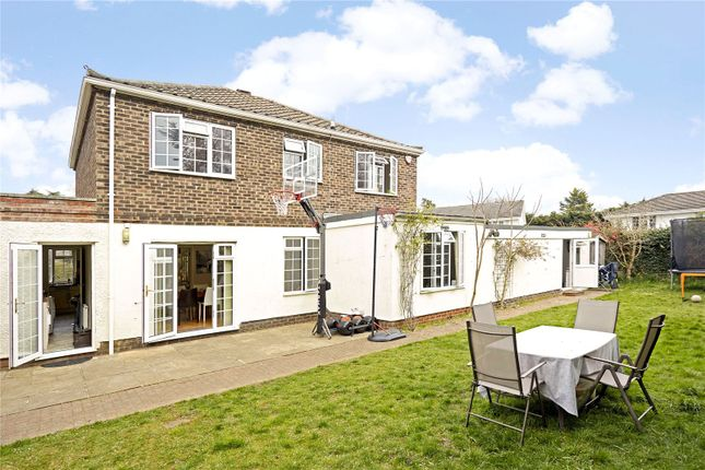 Thumbnail Detached house for sale in Marrowells, Weybridge, Surrey