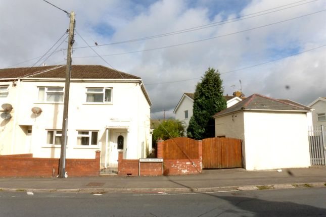 Thumbnail End terrace house for sale in School Terrace, North Cornelly, Bridgend