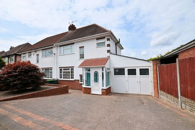 Thumbnail Semi-detached house for sale in Wilson Road, Warley Woods Area, Oldbury