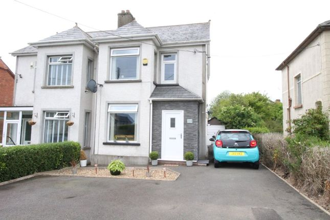 Thumbnail Semi-detached house for sale in Station Road, Greenisland