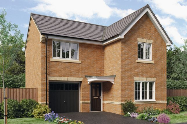 Thumbnail Detached house for sale in The Tweed, Barley Meadows, Cramlington, Northumberland