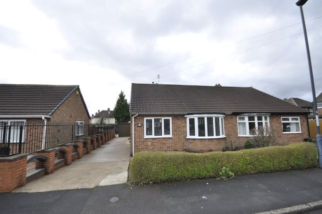 Thumbnail Semi-detached bungalow to rent in Sherwood Avenue, Littleover, Derby