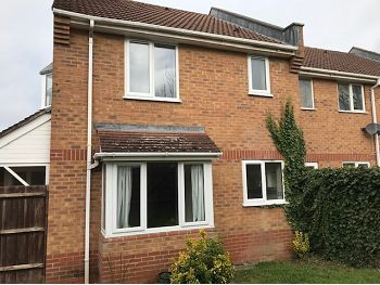 Thumbnail End terrace house to rent in Swan Drive, Staverton, Trowbridge