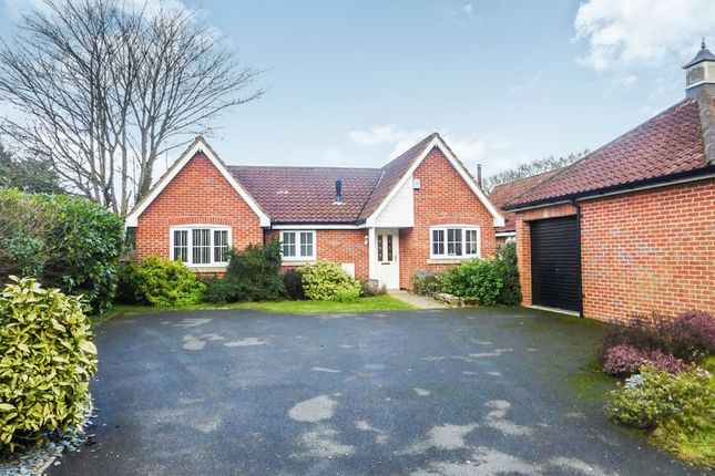 Detached bungalow for sale in New Road, Fritton, Great Yarmouth