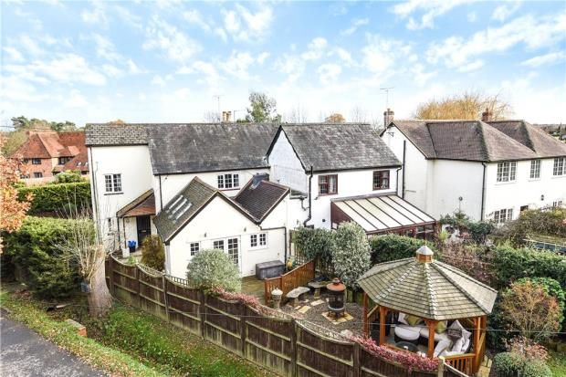 Thumbnail Semi-detached house for sale in Handpost Cottages, Basingstoke Road, Swallowfield