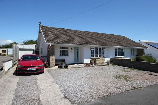 Thumbnail Semi-detached bungalow for sale in Monmouth Way, Boverton, Llantwit Major
