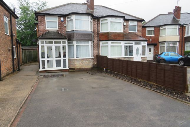 Thumbnail Semi-detached house for sale in Stow Grove, Hodge Hill, Birmingham