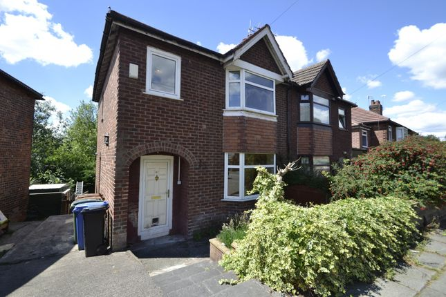 Thumbnail Semi-detached house to rent in Sandringham Road, Stockport, Cheshire