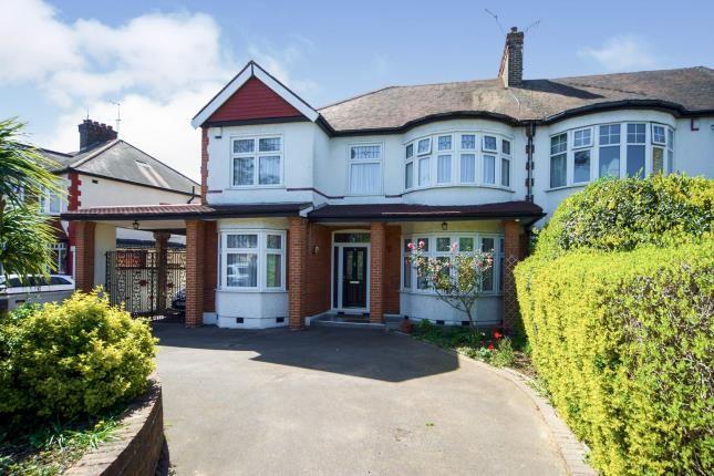 Thumbnail Semi-detached house for sale in Bush Hill Road, Grange Park, London, .