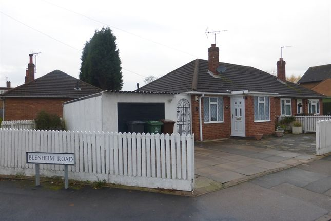Thumbnail Semi-detached bungalow for sale in Blenheim Road, Birstall, Leicester