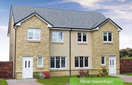 Thumbnail Semi-detached house for sale in The Arrochar, Off Oakley Road, Saline, Dunfermline, Fife