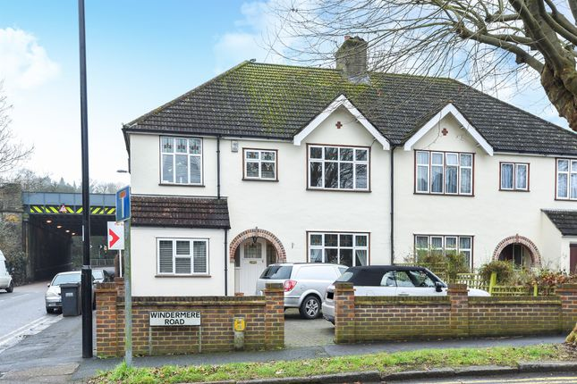 Thumbnail Semi-detached house for sale in Windermere Road, Coulsdon