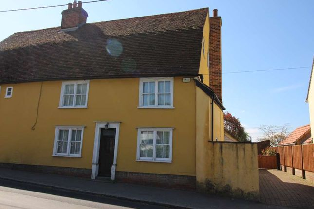 Thumbnail Semi-detached house to rent in Station Road, Felsted, Dunmow