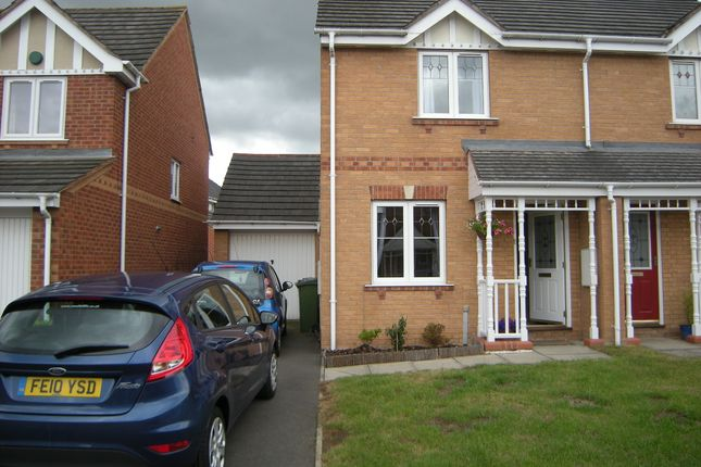 Thumbnail Semi-detached house to rent in Gavin Close, Thorpe Astley, Braunstone, Leicester