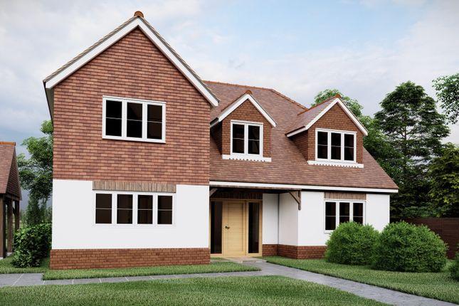 Thumbnail Detached house for sale in Faversham Road, Challock, Ashford