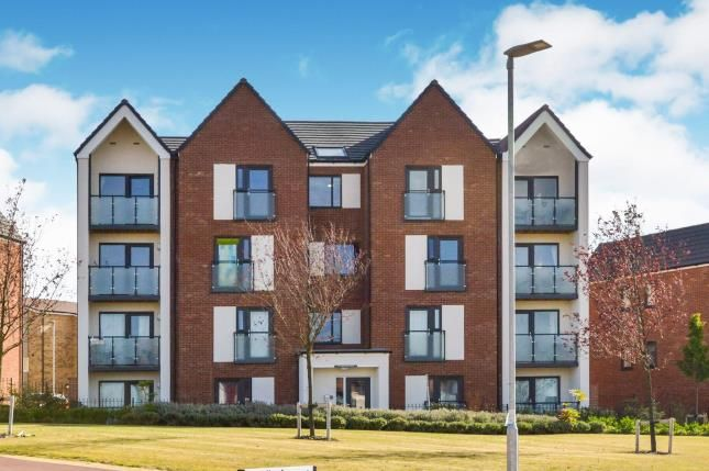 Thumbnail 2 bed flat for sale in Vespasian Road, Milton Keynes, Bucks