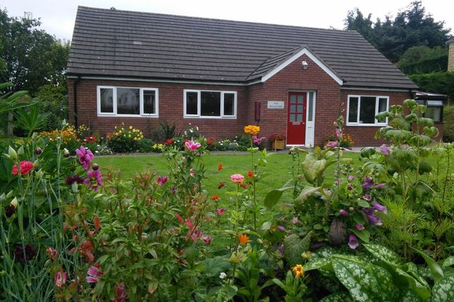 Thumbnail Detached bungalow for sale in Hatfield Meadow, Knighton