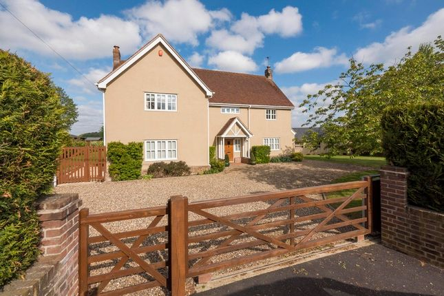 Thumbnail Detached house for sale in Alpheton, Sudbury, Suffolk