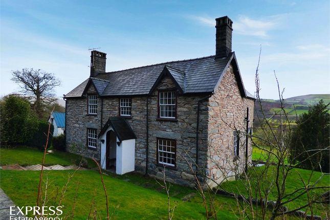 Thumbnail Detached house for sale in Cynwyd, Cynwyd, Corwen, Denbighshire