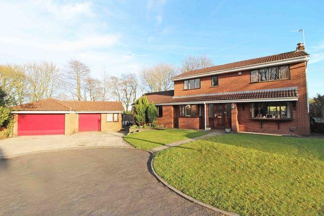 Thumbnail Detached house for sale in Wallbrook Avenue, Billinge, Wigan