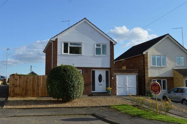 Thumbnail Detached house for sale in Barker Road, Earls Barton, Northampton