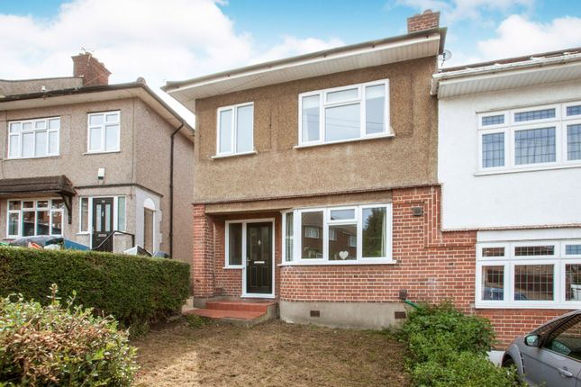 Thumbnail Semi-detached house for sale in Kingshill Avenue, Romford