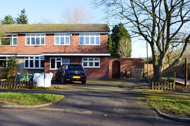 5 bed semi-detached house for sale in Vicarage Close, Kirby Muxloe
