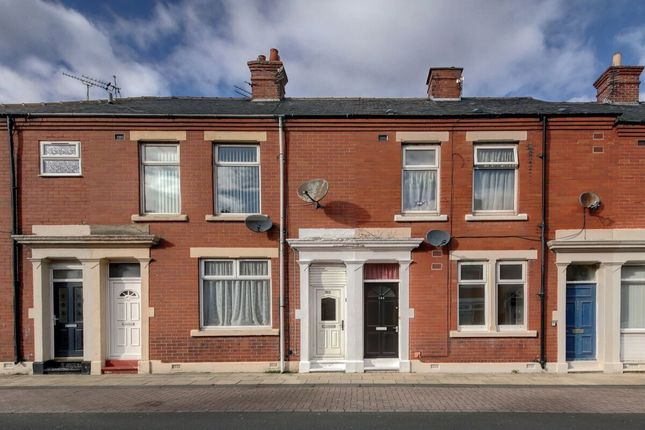 Thumbnail Terraced house to rent in Disraeli Street, Blyth