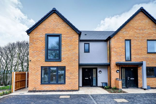Thumbnail Semi-detached house for sale in The Freshwater Meadow Lane, South Normanton, Alfreton