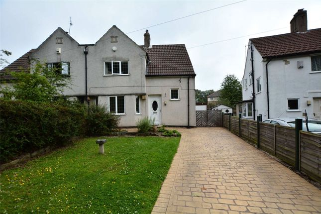 Thumbnail Semi-detached house for sale in Parkland Crescent, Meanwood, Leeds