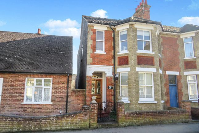 Thumbnail End terrace house for sale in Grove Road, Leighton Buzzard