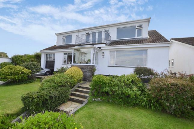 Thumbnail Detached bungalow for sale in Gwelanmor Road, Carbis Bay, St. Ives, Cornwall