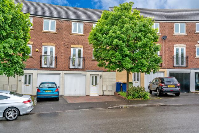 Thumbnail 4 bedroom terraced house to rent in Pheasant Way, Heath Hayes, Cannock