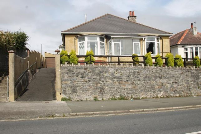 Thumbnail Detached bungalow for sale in Eggbuckland Road, Hartley, Plymouth