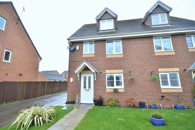 Thumbnail Semi-detached house for sale in Douglas Way, Murton, Seaham