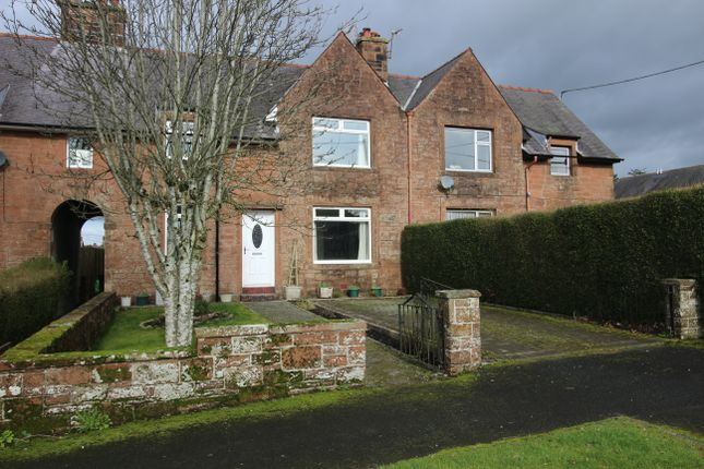 Thumbnail Terraced house for sale in Victoria Park, Lockerbie