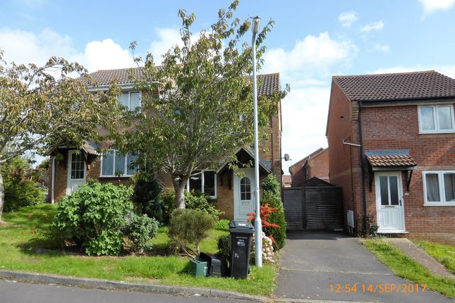 Thumbnail Semi-detached house to rent in Biddiscombe Close, Bridgwater