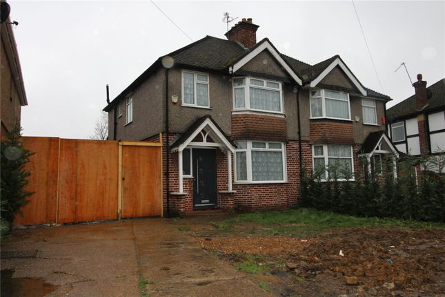 Thumbnail Semi-detached house to rent in Long Lane, Hillingdon, Greater London