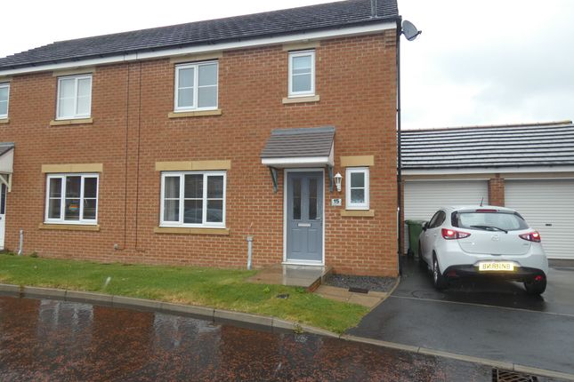 Thumbnail Semi-detached house for sale in Lambley Crescent, Seaton Delaval, Tyne & Wear