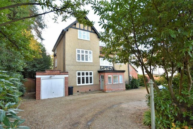Thumbnail Flat for sale in Heatherdale Road, Camberley, Surrey